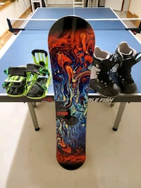 Snowboard  size 130, complete package deal Newmarket, L3Y 1Z1
