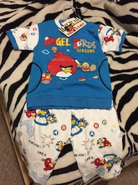 BNWT 2T Angry Bird Outfit Brampton, L6Y 2R8