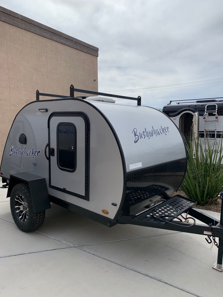 Photo Bushwhacker teardrop trailer