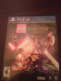 Sony PS4 Lego Star Wars game case Saint Marys, 26170