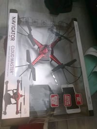 white and red quadcopter drone Kansas City, 64155