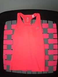 adidas pink workout top S Whitby, L1N 9B4