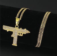 Uzi Iced Out Chain Oslo, 0950