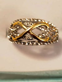 New Infinity ring,  size 8