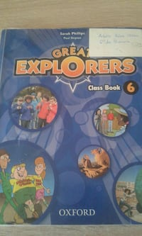 Libro de clase de Great Explorers by Sarah Philips Ciudad Real