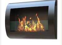 Chelsea wall mounted bio-ethanol fireplace Winchester, 22601