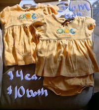 baby's three assorted onesies Clear Brook, 22624