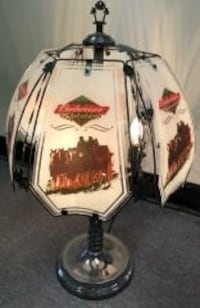 """Budweiser Clydesdales, 24"""" Touch Lamp"""