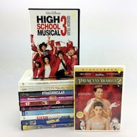 Lot 12 Girls Young Adult DVDs Teen Movies Family Films Collection For Ages 9-14 Port Colborne