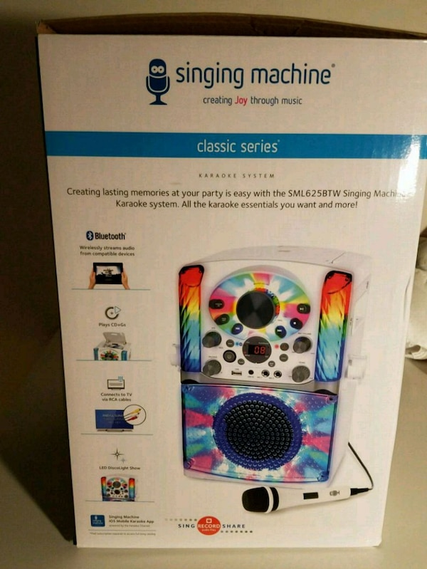 Singing machine Karaoke