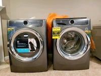 two gray front load washing machines Alexandria, 22312