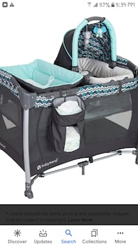 Baby trend play pen with changing table and bassinet $50.00 or best offer