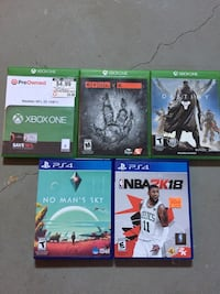 Xbox one and PS4 games Leeton, 64761