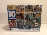 Heronim Collections 10 in 1 Puzzle North Charleston, 29406