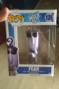 Pop Fear vinyl figure in box Edmonton, T5N 1L4