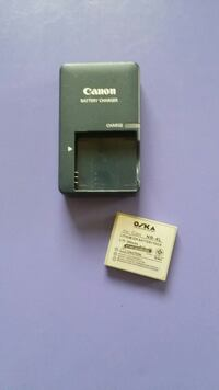 CANON BATTERY CHARGER with good battery  Vancouver, V6J 3B9
