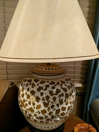 white and brown table lamp Pikesville, 21208