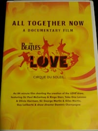 Beatles All Together Now -Love Doc DVD Phoenix, 85022