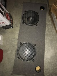 Subwoofer box and amp Uxbridge, L4A