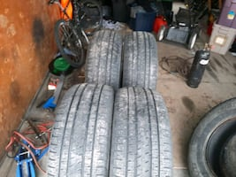 Set of two 275 50 20 truck tires for sale