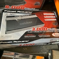 Power acoustik 3,000 watts monoblock amp