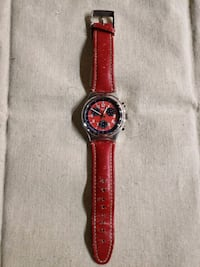 Swatch Irony Chronograph Secret Agent Red 1996 - N Boston, 02109