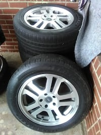 """17 """" wheels and tires"""