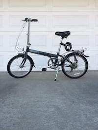 FOLDING BIKE 7 SPEED, NEW TIRES, DAHON D7 VERY GOOD CONDITION EXTRA