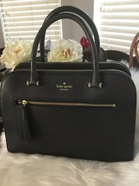 Like new Kate Spade Black leather tote bag $100 obo. Wylie, 75098
