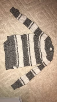 black and white knit sweater East Stroudsburg, 18302