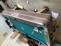 blue and brown wooden pool table North Chicago, 60088