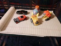 two red and yellow RC car toys Albany, 31705