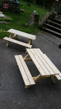 Kids size picnic tables  Mission