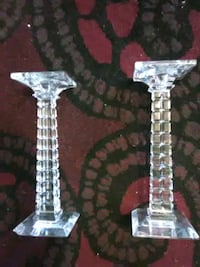 Lead Crystal candle stand's Kelowna, V1X 4S8