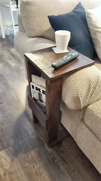 Couch Armrest Side Table