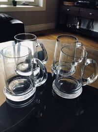 Crystal beer mugs Toronto, M9A 4A6