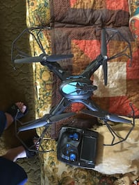 Black and gray quadcopter with remote Kingsland, 78639