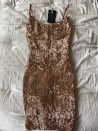 Brand new fashion nova sequin dress Surrey, V3S 1X3