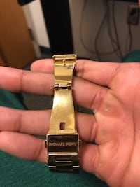 Gold Michael Khors watch Fairfax, 22030