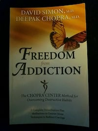 Freedom from Addiction by David Simon, M.D. book Myersville, 21773