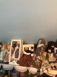 10 porcelain dolls $8 each Taneytown, 21787