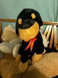 black and brown bear plush toy Cadillac, 49601