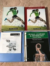 Anatomy & Physiology 1&2 textbook, workbook and lab book Chesnee, 29323
