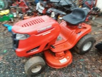 red and black ride on lawn mower Amherst, 24521