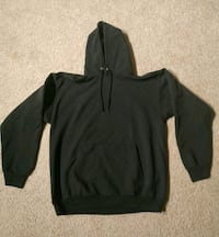 Black hoodie pull over size medium/large Farmington Hills