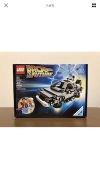 Back to the future LEGO set  Downey, 90240