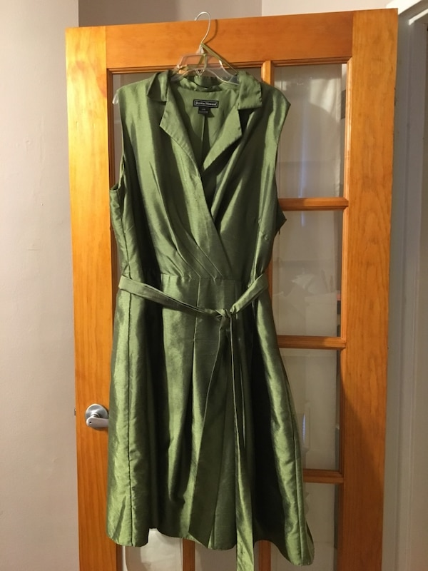 Green Dress- Size 22