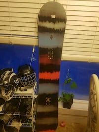 two black and white snowboard Edmonton, T6M 2N6