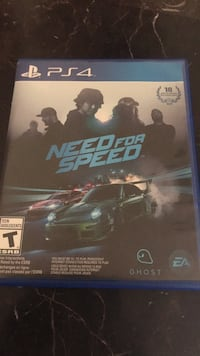 Sony ps4 need for speed  Simi Valley, 93065