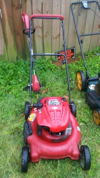 red and black Troy-Bilt push mower Norfolk, 23513